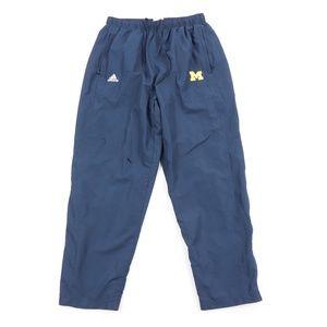 Adidas Mens Large Michigan Wolverines Sweatpants